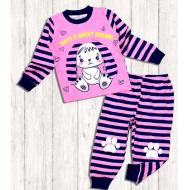 20-9762 Пижама для девочки, 3-7 лет, розовый