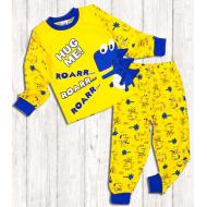 "20-9775 ""Roarr"" Пижама для мальчика, 3-7 лет, желтый"