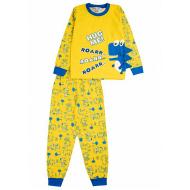 "020-9775 ""Roarr"" Пижама для мальчика, 3-7 лет, желтый"