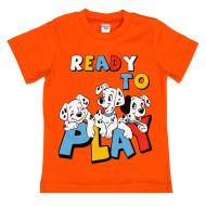 45-140110 Футболка для мальчика, 1-4 года, оранжевый