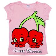 45-8120210 Футболка для девочки, 8-12 лет, розовый