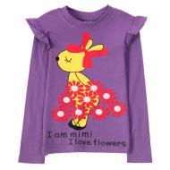 11-141261 Лонгслив для девочки, 1-4 года, сиреневый