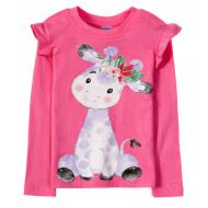 11-141263 Лонгслив для девочки, 1-4 года, розовый