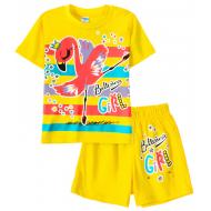 11-142201-3 Комплект для девочки, 1-4 года, нежно-желтый
