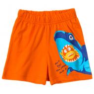 11-144101-5 Шорты для мальчиков, 1-4 года, оранжевый