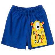 11-144101-7 Шорты для мальчиков, 1-4 года, синий