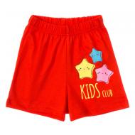 11-144201-1 Шорты для девочки, 1-4 года, красный