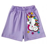 11-144201-2 Шорты для девочки, 1-4 года, фиолетовый