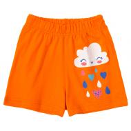 11-144201-5 Шорты для девочки, 1-4 года, оранжевый