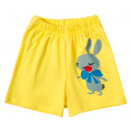 11-144201-6 Шорты для девочки, 1-4 года, желтый