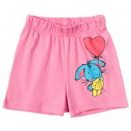 11-144201-7 Шорты для девочки, 1-4 года, розовый