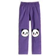 """11-14601-6 """"Panda"""" Лосины для девочек, 1-4 года, фиолетовый"""