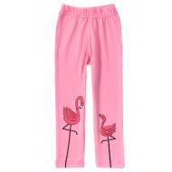 """11-14601-5 """"Flamingo"""" Лосины для девочек, 1-4 года, розовый"""