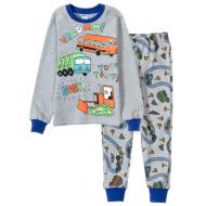11-148101 Пижама для мальчика, 1-4 года, меланж
