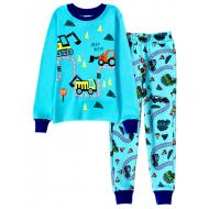 11-148104 Пижама для мальчика, 1-4 года, голубой