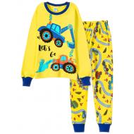 11-148103 Пижама для мальчика, 1-4 года, желтый
