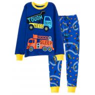 11-148102 Пижама для мальчика, 1-4 года, синий