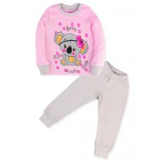 11-148262 Пижама для девочки, 1-4 года, розовый