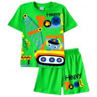 11-252101-1 Комплект для мальчика, 2-5 лет, зеленый