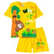 11-252101-2 Комплект для мальчика, 2-5 лет, желтый