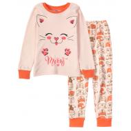 11-258211 Пижама для девочки, 2-5 лет, экрю