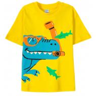 11-580123 Футболка для мальчика 5-8 лет, желтый