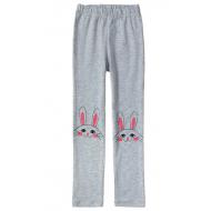 """11-58601-3 """"Bunny"""" Лосины для девочек, 5-8 лет, меланж"""