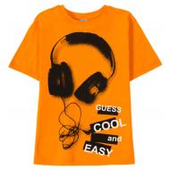 11-9120121 Футболка для мальчика 9-12 лет, оранжевый