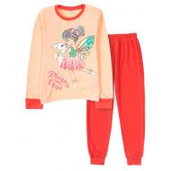 11-9128206 Пижама для девочки, интерлок, 9-12 лет, арбузный