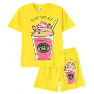 11-582201-1 Комплект для девочки, 5-8 лет, желтый