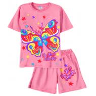 11-582201-3 Комплект для девочки, 5-8 лет, розовый