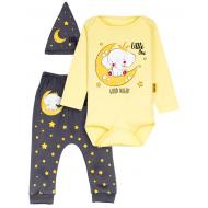 """12-0930-13 """"Elephant"""" Комплект для малышей, 62-74, желтый"""
