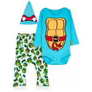 """12-0930-5 """"Turtle"""" Комплект для малышей, 62-74, бирюзовый"""