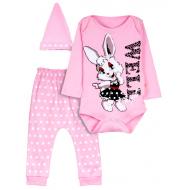 """12-0930-7 """"Well"""" Комплект для малышей, 62-74, розовый"""