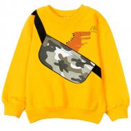 12-250102 Толстовка для мальчика, 2-5 лет, желтый