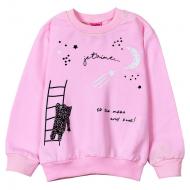 """12-251202-2 """"Звездный мишка"""" Толстовка для девочки, 2-5 лет, св-розовый"""