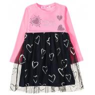 12-26905 Платье для девочки, 2-6 лет, розовый