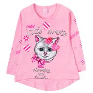 12-360809-1 Туника для девочки, 3-6 лет, розовый