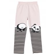 """12-37602-2 """"Panda"""" Лосины для девочки, 3-7 лет, бежевый"""