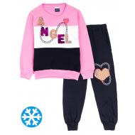 """12-6988201-2 """"Angel"""" Костюм для девочки, 6-9 лет, розовый"""