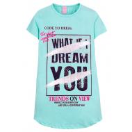 """12-8110807-2 """"Dream"""" Туника для девочки, 8-11 лет, ментоловый"""