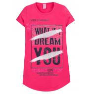 """12-8110807-4 """"Dream"""" Туника для девочки, 8-11 лет, малиновый"""