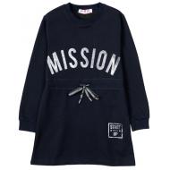 """12-914901 """"Mission"""" Платье для девочки, 9-13 лет, черный"""
