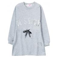 """12-914903 """"Mission"""" Платье для девочки, 9-13 лет, серый"""