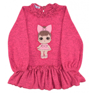 20-31803 Платье-туника для девочки, 2-5 лет