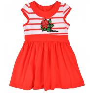 20-10252 Платье для девочки, 2-6 лет, красный