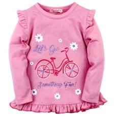 20-124905 Кофта для девочки, 2-5 лет, розовый