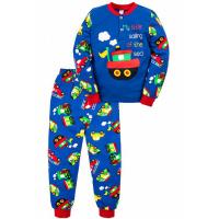 """20-125114 """"My Sailing"""" Пижама утепленная для мальчика, 2-6 лет, электрик"""
