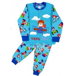 """20-125113 """"Pilot"""" Пижама утепленная для мальчика, 2-6 лет"""