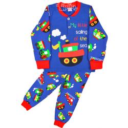 """20-125114 """"My Sailing"""" Пижама утепленная для мальчика, 2-6 лет"""